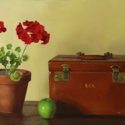 Pelargonia, 2013, oil on linen, 17x24in (43x61cm)