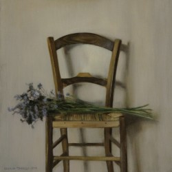 Tuscan Chair, 2011, oil on linen, 20x20in (51x51cm)